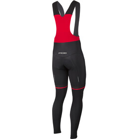 Etxeondo Kom Cuissards longs à bretelles Homme, black/red